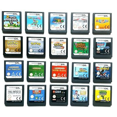 Nintendo DS Spiele Mario Bros. Kart Yoshi Layton Animal Crossing Pokemon uvm.