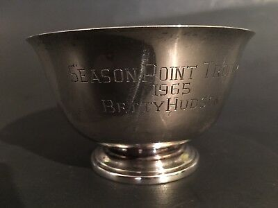 Cartier Sterling Silver Bowl Paul Revere Reproduction