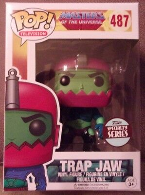 Funko Pop! Trap Jaw #487, Funko Specialty Series, Masters of the Universe