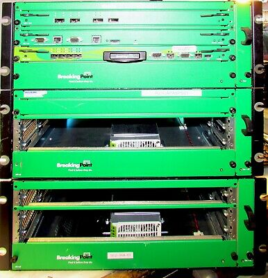 Ixia Breakingpoint Systems Storm Ctm Chassis With Power Supply