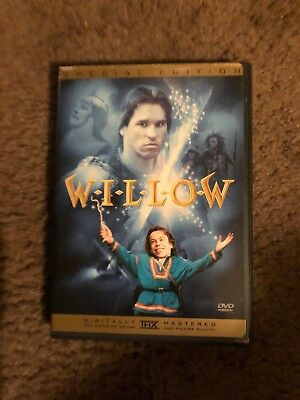Willow   (Special Edition DVD) Includes Insert Val Kilmer Like New!