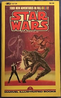 Stan Lee Presents The Marvel Comics Illustrated Version of STAR WARS 1981