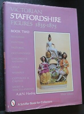 Victorian Staffordshire Figures 1835-1875 Book Two,Religious,Hunters,Dogs, etc.