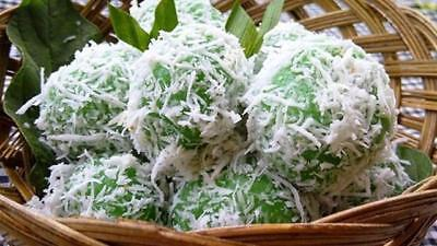 Klepon Sweet Indonesian Snack