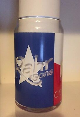 Rahr & Sons Brewing Company Come And Drink It Texas Flag Can Shaped Beer Glass