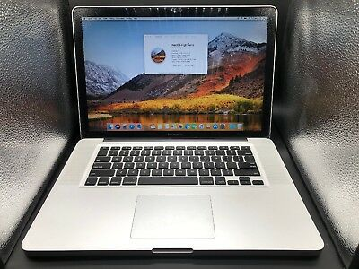"MacBook Pro 15"" early 2011 Intel core i7 2.2GHz/8GB/SSD 512GB/SuperDrive"