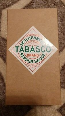 Vintage Military Tabasco Brand Bottle Collectors Edition Pepper Sauce