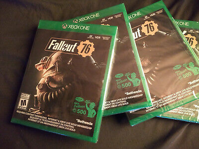 XBOX ONE - FALLOUT 76 - Brand New Sealed!