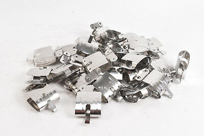 Lot of 27 Stainless Steel Darkroom Film Hanging Drying Clips V25
