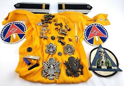 Mixed Lot Military Pins patches