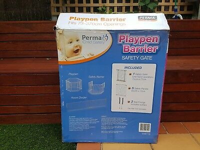 Perma Child Safety Barrier 3 in 1