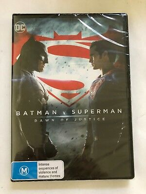 Batman v Superman - Dawn of Justice DVD, 2016 Brand New - Free Shipping​