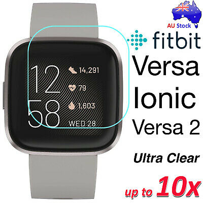 Premium Ultra Clear Screen Protector Film for Fitbit Versa 2 and Fitbit Ionic