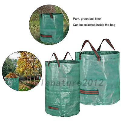 120L/272L Foldable Bag Collecting Leaves Flowers Garbage Garden Storage Tools