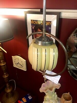 1930's Art Deco Original Ceiling Light