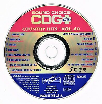 Sound Choice Karaoke Collection Hits 8437 Very Rare 15 Massive Hits Karaoke Cdgs, Dvds & Media Musical Instruments & Gear