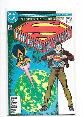The Man Of Steel 1-6 Complete Mini-series (DC, 1986)