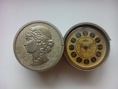 Europa Germany Antique Alarm Clock – Coin Shaped