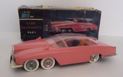 Gerry Anderson Thunderbirds JR21 Toys Lady Penelope FAB 1 1960's Boxed