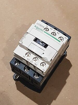 Schneider electric contactor lc1d09f7 tesys series 3p 3 pole 4kw/400v 110vca