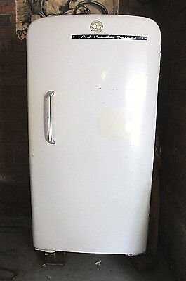 vintage retro australian a j veall deluxe refrigerator working