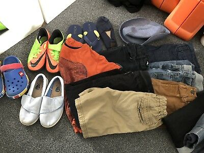 Boys Shoes And Clothes Bundle 5/6 Years 10/11 Shoes