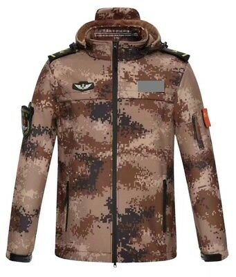 07's series China PLA Army Desert Digital Camouflage Winter Technical Jacket,B