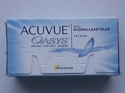 Acuvue Oasys Hydraclear Plus 24pk