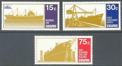 SINGAPORE 1970 Shipping Set of 3 MNH