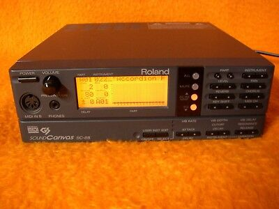 Roland Sound Canvas Sc 88 Midi Expander Soundmodul