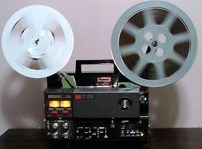 Elmo GS-1200 M&O STEREO SOUND Movie PROJECTOR in BOX ~SERVICED~