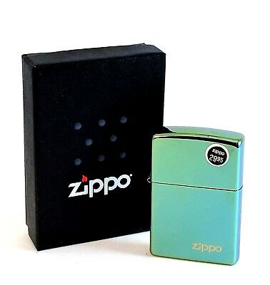 BRAND-NEW Zippo Chameleon With Zippo Logo Windproof Lighter In Box, # 28129ZL