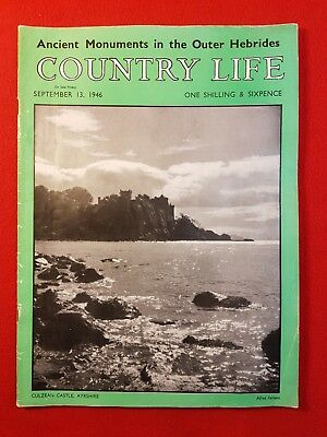 COUNTRY LIFE Magazine : 13th September 1946