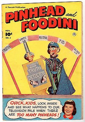 Pinhead and Foodini #3, Very Good - Fine Condition