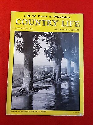 COUNTRY LIFE Magazine : 20th September 1946