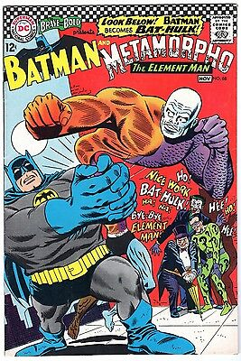 Brave and the Bold #68 Featuring Batman & Metamorpho - Very Fine Condition