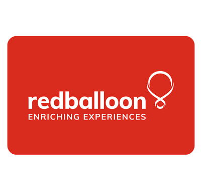 RedBalloon Gift Card $25, $50 or $100  - Email Delivery via PayPal