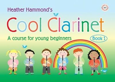 COOL CLARINET Book 1.  A course for young beginners. Music Tutor with CD