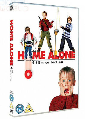 Home Alone - The Complete 1 2 3 & 4 Film Collection Box Set   New   Sealed   DVD