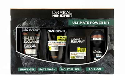 L'oreal Men Expert The Ultimate Power 4 Piece Christmas Gift Set For Him