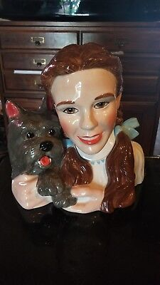 Wizard Of Oz Dorothy Toto Cookie Jar limited edition