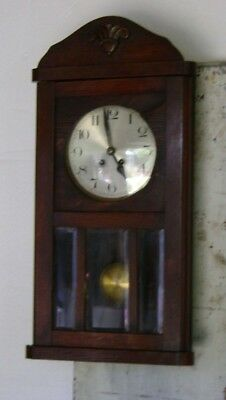 Edwardian 30hour Wall Clock