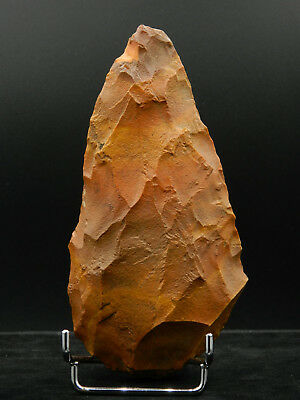 ANCIENT Flint HAND AXE - Acheulean Civilization - 16 cm LONG - Sahara