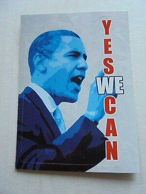 2008 Topps Barack Obama Inauguration Sticker #1 NM/M Condition Trading Card