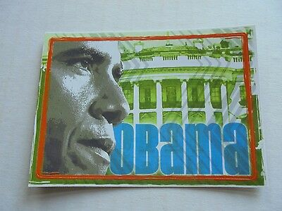 2008 Topps Barack Obama Inauguration Sticker #4 NM/M Condition Trading Card