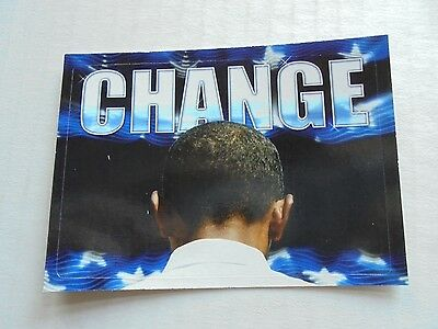 2008 Topps Barack Obama Inauguration Sticker #3 NM/M Condition Trading Card