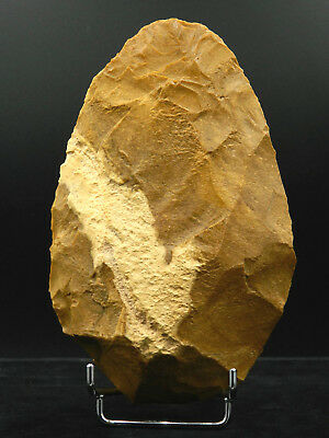 ANCIENT Flint HAND AXE - Acheulean Civilization - 18 cm LONG - Sahara