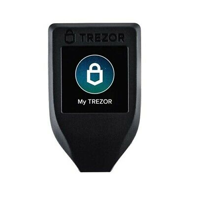 Trezor Model T Crypto Hardware Wallet BTC XRP ETH LTC - Express Post