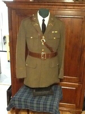 Post WWI Army Officer Service uniform