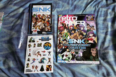 Retro Gamer Magazine 187 SNK Special (Subscriber Edition, Stickers + Booklet)
